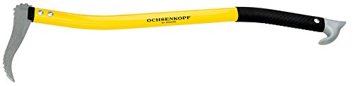 Ochsenkopf Alu-Handsappie, Ergonomische Form, Leichter Stiel mit Aluminiumlegierung, 700 mm, 580 g