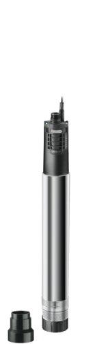 Gardena Premium Tiefbrunnenpumpe 6000/5 inox automatic: Brunnenpumpe mit 6000 l/h Fördermenge aus rostfreiem...