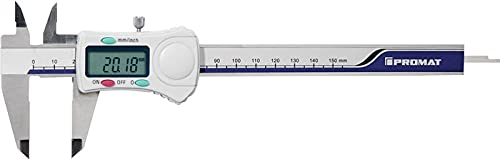 Promat 851055 Messschieber DIN862 150mm dig. m.