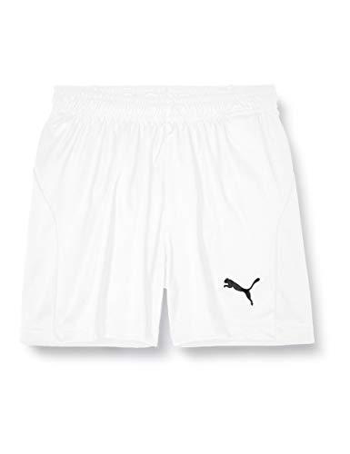 Puma Kinder LIGA Shorts Core Jr White Black, 152