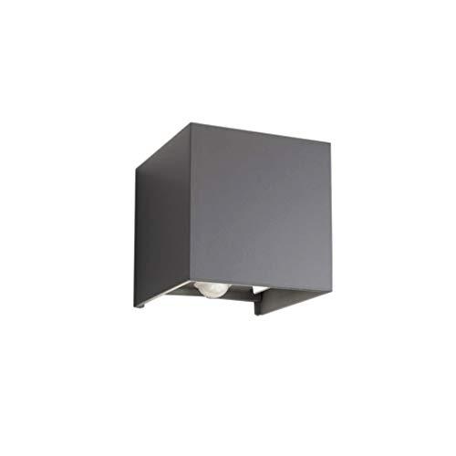 Klighten LED Wandleuchte mit Bewegungsmelder, 12W Wandbeleuchtung mit Einstellbar Abstrahlwinkel IP 65...