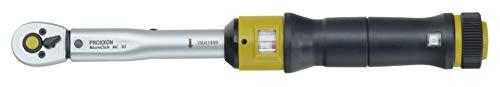 PROXXON 23349 Drehmomentschlüssel MicroClick MC30 Antrieb 6,3 mm (1/4 Zoll)