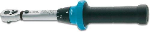 HAZET Drehmoment-Schlüssel (2,5-25 Nm, feine Skaleneinteilung, 4% Genauigkeit in Betätigungsrichtung, 6,3 mm...