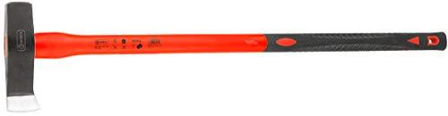Connex Spalthammer - 3000 g Kopfgewicht - Vibrationsarmer Glasfaserstiel - Ideale Kraftübertragung -...