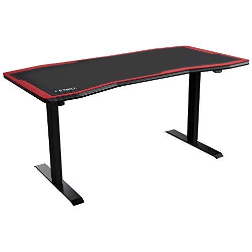 Elektrisch höhenverstellbarer Gamingtisch D16E von NITRO CONCEPTS