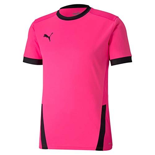 Puma Herren teamGOAL 23 Jersey Trikot, Fluo Pink Black, 3XL