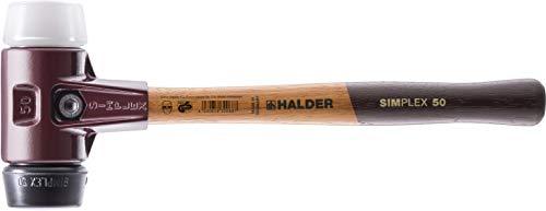 SIMPLEX-Schonhämmer, mit Stahlgussgehäuse und hochwertigen Holzstiel | Ø=60 mm | 3027.060