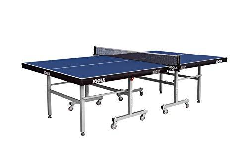 JOOLA Tischtennistisch WORLD CUP - Indoor Tischtennisplatte Freizeitsport - Einklappbares Untergestell...