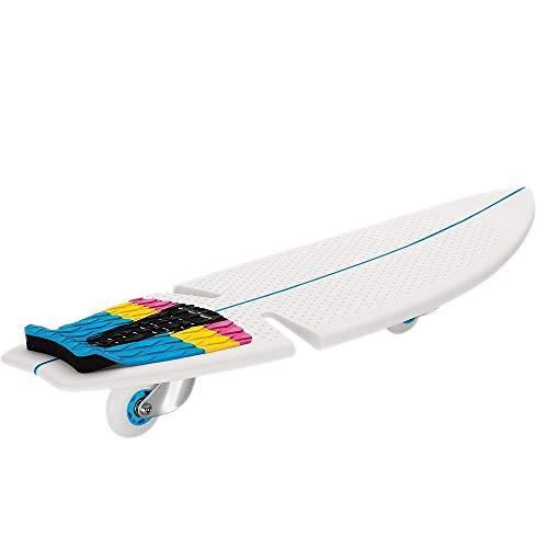 Razor Kinder Rip Surf Skateboard 2 Wheels, Teal/Orange, One Size