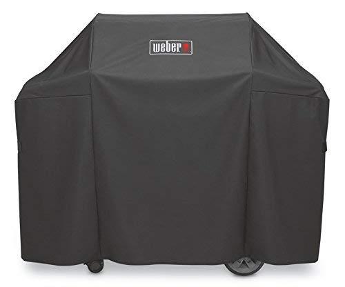 Weber 7134 Abdeckhaube Premium für Genesis 300 Serie, schwarz, 113 x 147.3 x 63.5 cm