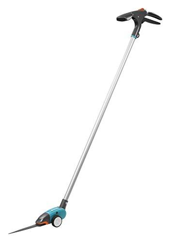 Gardena Comfort Grasschere, langstielig: Rasenschere mit Stiel, rückenschonend, 180° drehbare Schneide,...