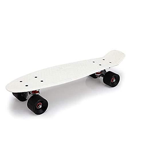 PHLPS Cruiser Skateboard, komplette 22-Zoll-Mini-Cruiser Skateboard, durchscheinende Kunststoff-Penny-Board,...
