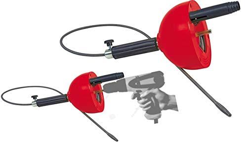 ROTHENBERGER Industrial Rohrreinigungs - Spirale 072990E, 4,5 m lang, verstopfte Abflüsse, geeignet für...