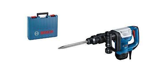 Bosch Professional Schlaghammer GSH 5 (SDS max., Schlagenergie 7,5 J, 1.100 Watt, inkl. Spitzmeißel &...