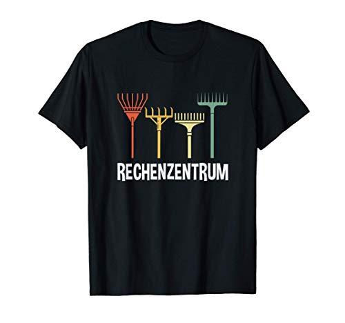 Rechenzentrum Rechen Gärtner Lustiges Gartner Geschenk T-Shirt
