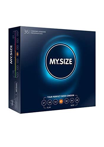 My.Size Kondome Größe 4, 57mm, Großpackung (36 Stück)