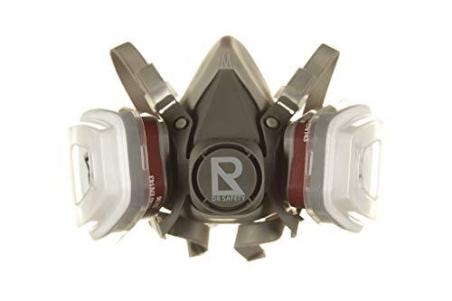 DR SAFETY - Staubmaske, Atemschutzmaske, Halbmaske mit doppeltem Filtersystem DRS002-M101