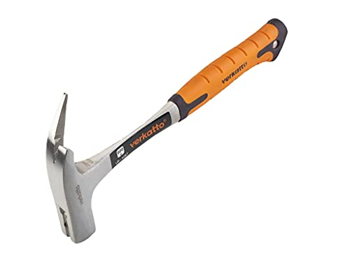 Mivos Latthammer 600 g Kopfgewicht, Ganzstahl geschmiedet / Zimmererhammer mit magnetischem Nagelhalter /...