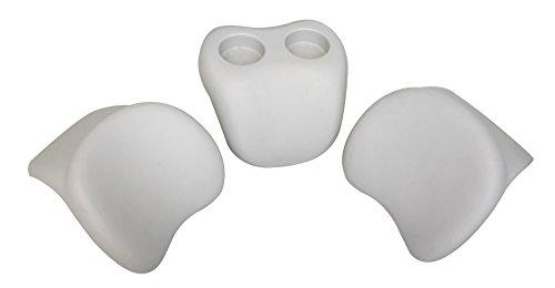 Miweba MSpa Whirlpool Comfort Set B0301350 2 Kopfstützen mit Getränkehalter auch universell einsetzbar
