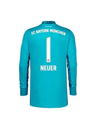 FC Bayern München Kinder Torwart-Trikot Saison 2020/21, Gr. 164, Manuel Neuer