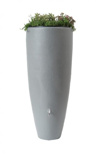 Regenwassertank 2in1 300 Liter zinkgrau Graf/Garantia 326111