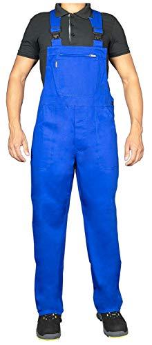 Uvex Eco 126 Herren-Arbeitshose - Blaue Männer-Latzhose 52