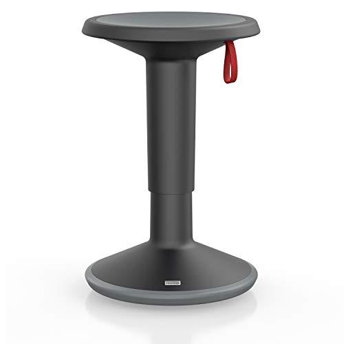 Interstuhl UPis1 - ergonomischer Sitzhocker mit Schwingeffekt – Premium Hocker höhenverstellbar und drehbar...