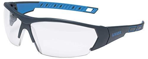 uvex i-Works Schutzbrille 9194 - Kratzfest & Beschlagfrei, 100% UV-400-Schutz - Sicherheitsbrille mit Klarer...