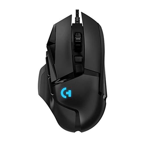 bansd Ergonomisches Design G502 Kabelgebundene mechanische Gaming-Maus RGB-Gaming-Maus Schwarz