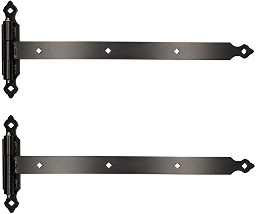 KOTARBAU® Ladenband 800 mm 2 St. Platte 255 mm Kugellager Schmiernippel Torband Türband Torscharnier...