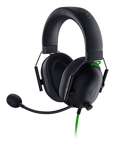 Razer BlackShark V2 X - Premium Esports Gaming Headset (Kabelgebundene Kopfhörer mit 50mm-Treiber,...