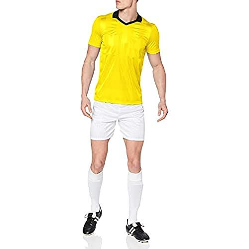 adidas Herren REF18 JSY T-Shirt, Shock Yellow, L