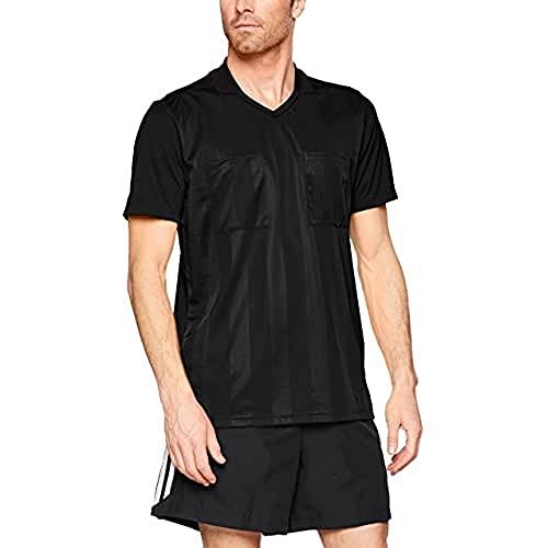 adidas Herren REF18 JSY T-Shirt, Black, M