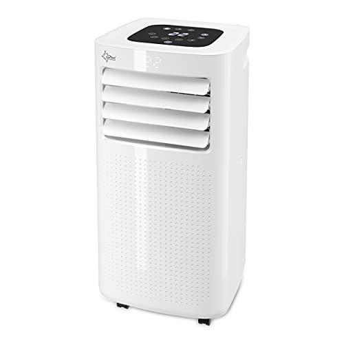 SUNTEC Mobiles Klimagerät Eco R290 – Klimaanlage mobil und leise mit Abluftschlauch – Kühler &...