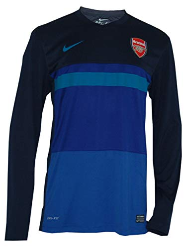 Nike Arsenal London Training Top AFC Jersey Trikot blau