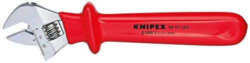 KNIPEX 98 07 250 Rollgabelschlüssel verstellbar 260 mm