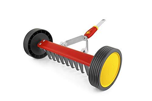 WOLF-Garten - Vertikutier-Roller multi-star® UR-M 3'NEU2018, Rot, 30x60x16 cm; 71AAA036650
