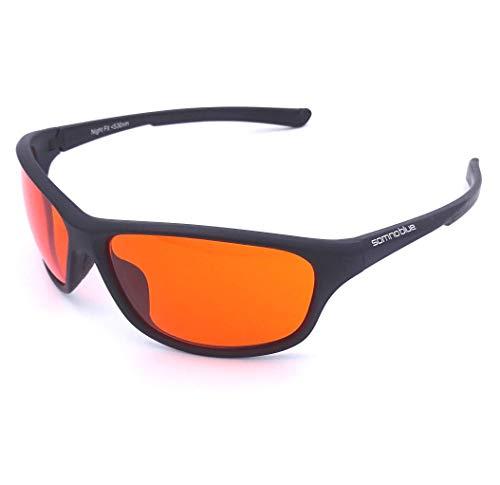 Somnoblue Blaulichtfilter-Brille Pro - Blueblocker-Brille – 99,9% Anti-Blaulicht - BIOHACKING-PRO – Neues...