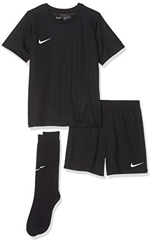 Nike Kinder Park Kit Trikotset, Schwarz (Black/White), S (104-110)