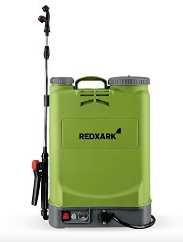Redxhark 16 Liter Akku Drucksprühgerät Rückenspritze - Akku Drucksprüher
