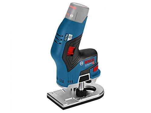 Bosch Professional 06016B0072 GKF 8 (blank, Karton), bürstenloser 12 V Router, blau, 12V-8