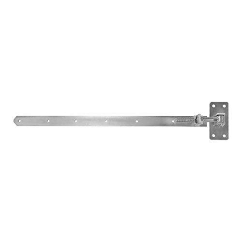 2 x SO-TOOLS® Gartentorscharnier 770-870 mm M20 Gartentorband Ladenband Türband