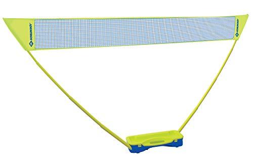 Schildkröt Badminton-Set Compact, inklusive Netz, 2 Schläger und 2 Bälle, im praktischen Kunststoffkoffer,...