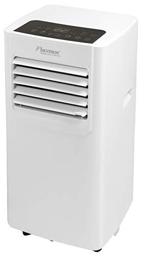 Bestron Mobile Klimaanlage, Klimagerät für Räume bis 28m², Kühlleistung 2,1 kW mit umweltfreundlichem...