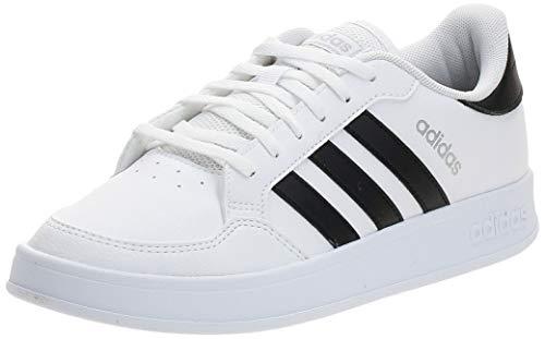 adidas Damen BREAKNET Tennisschuhe, Ftwbla/Negbás/Plamet, 40 EU