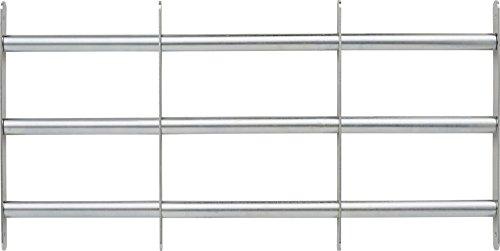 ABUS Fenstergitter FGI7450 - Gitter zur Einbruchsicherung von Keller- und Erdgeschossfenstern - 700-1050 x 450...