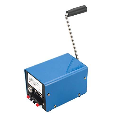 Handkurbel-Generatoren Haushalt Hohe Leistung Katastrophennotfall Tragbar Generator USB Mobiltelefon Computer...