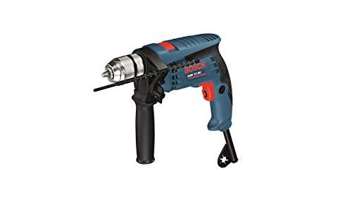 Bosch Professional Schlagbohrmaschine GSB 13 RE (600 Watt, inkl. Tiefenanschlag 210 mm, Schnellspannbohrfutter...
