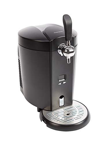 Thomson Kühlung THBD47718 Bierzapfanlage, Zapfanlage für 5 Liter Bierfass, Temperatur regelbar (4 bis 12...