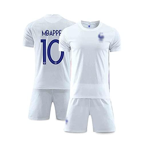 2021 MBÁPPÉ Frankreich Home Und Away Football Jersey, Erwachsene Und Kinderanzug, Atmungsaktiv Und Schnell...